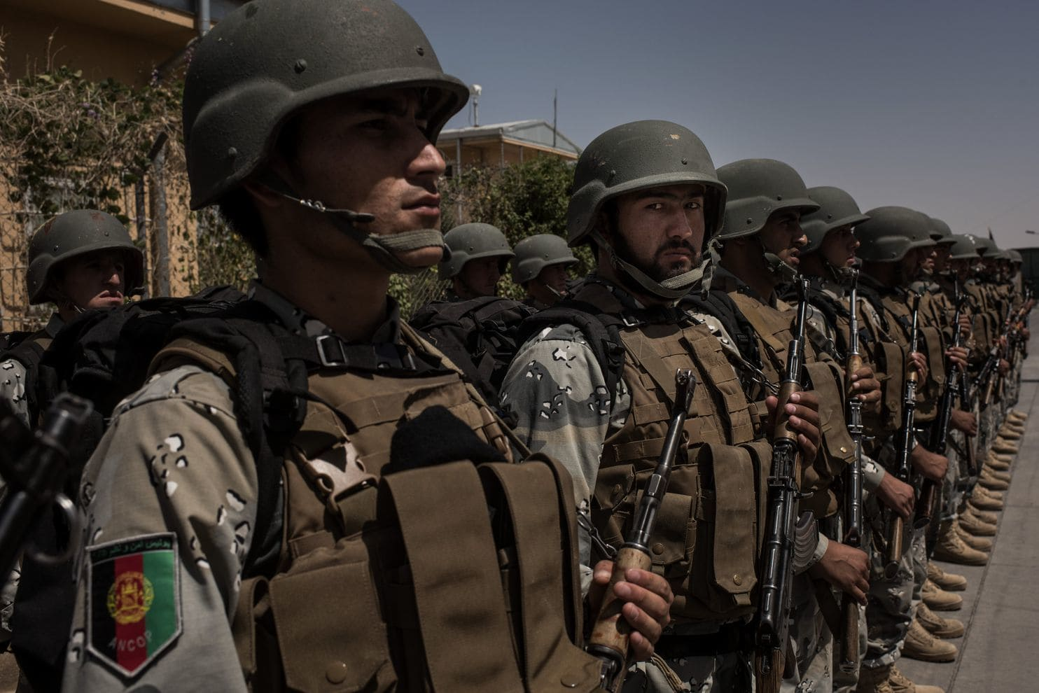Afghan National Speicial force police